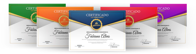 Certificado Massage Experience
